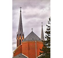 St. Mary's Church Study 2  Photographic Print