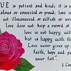 Love Never Fails by Olive Denyer