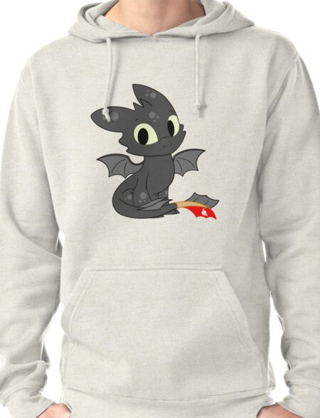 Little Dragon Pullover Hoodie