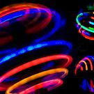 Neon Spin by Bradley Old