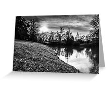 Reflections over Water Greeting Card