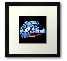 Blue Bombers Framed Print