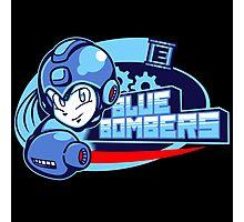 Blue Bombers Photographic Print