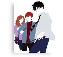 Harry Potter Minimalism Canvas Print