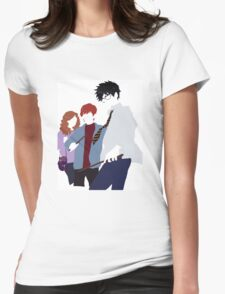 Harry Potter Minimalism Womens Fitted T-Shirt