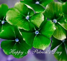 Happy St. Patrick's Day by Donna Adamski