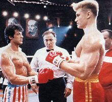 Rocky Balboa Standoff by coulterdeacon