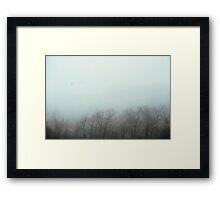 Foggy Day I Framed Print
