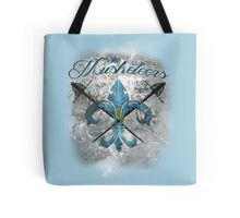The Musketeers Grunge Style Logo Tote Bag