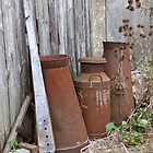 Rusty Churns 2 by Sandra Mangnall