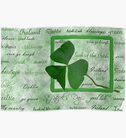 Irish Heritage Poster