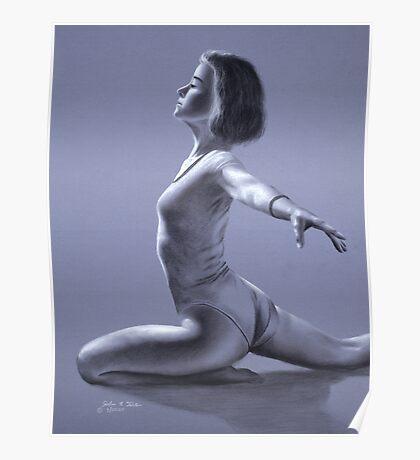 Dancer Study Poster