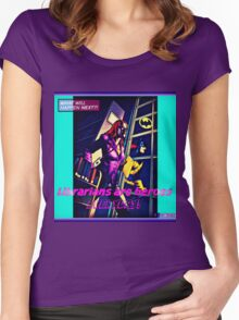 Summer Days Heroes 2 Women's Fitted Scoop T-Shirt