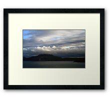 The Yacht 3 Framed Print