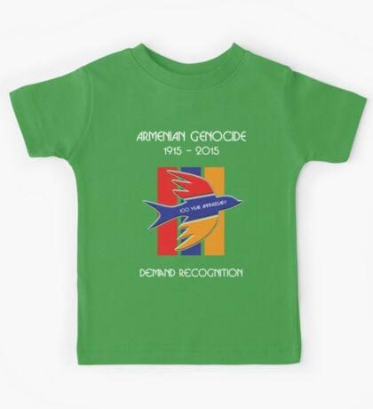 Armenian Genocide 100 Year Anniversary Peace Dove Kids Tee