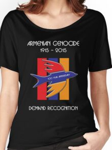 Armenian Genocide 100 Year Anniversary Peace Dove Women's Relaxed Fit T-Shirt