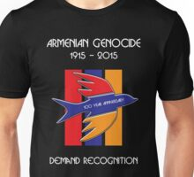 Armenian Genocide 100 Year Anniversary Peace Dove Unisex T-Shirt