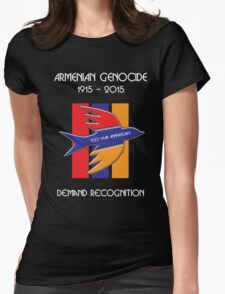 Armenian Genocide 100 Year Anniversary Peace Dove Womens Fitted T-Shirt