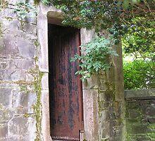 Door on Castle Grounds by JenniferJW