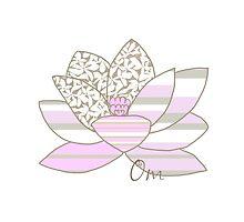 Lotus Flower by Amanda Latchmore