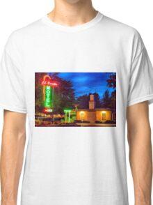 Napa Motel Neon Classic T-Shirt