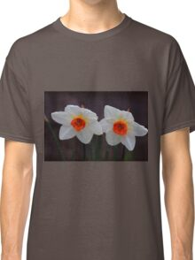 White Daffodils  Classic T-Shirt