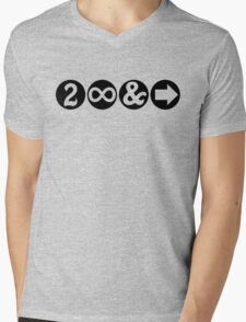 To Infinity and Beyond! Mens V-Neck T-Shirt