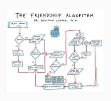 Friendship Algorithm The Big Bang Theory by giovybus