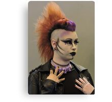 Punky Purple Canvas Print