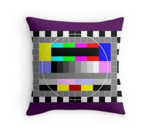 Test Tee Throw Pillow