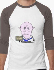 Toilet brush Men's Baseball ¾ T-Shirt