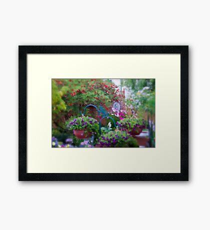 A Beautiful Blur - My Yarden Framed Print