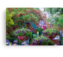 A Beautiful Blur - My Yarden Canvas Print