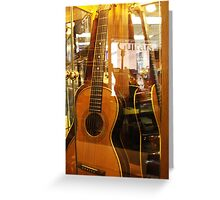 Guitar Puzzle Greeting Card