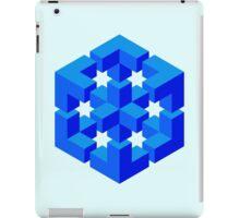 Abstract Cube iPad Case/Skin