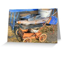 Rust on Wheels Greeting Card