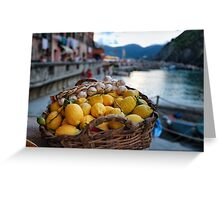 Fruit of Cinque Terre Greeting Card