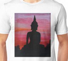 Sunset Buddha Unisex T-Shirt