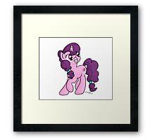 Sugar Belle Framed Print