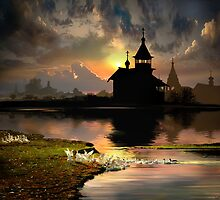 Evening Silhouettes by Igor Zenin