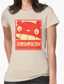 Ghibli Womens Fitted T-Shirt