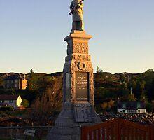 War Memorial Lochinver Sutherland by Alexander Mcrobbie-Munro
