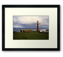 Lighthouse  Butt of  Lewis Framed Print