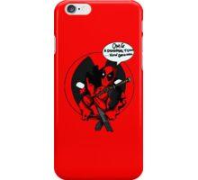 Post modern self aware-shmare...blah blah...bang bang....CHIMICHANGASSSS iPhone Case/Skin