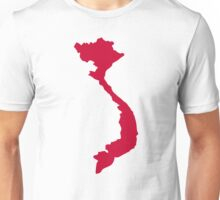 Vietnam map Unisex T-Shirt
