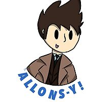 Allons-y! by DrawnToFezzes