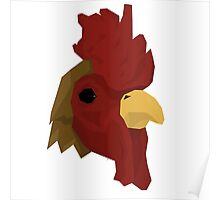 Richard - Hotline Miami low poly mask Poster