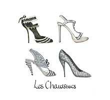 Les Chaussures by Amanda Latchmore