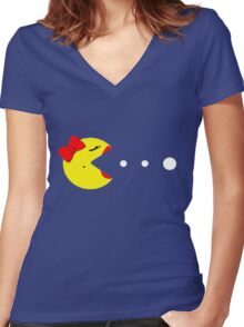 The Ms. Women's Fitted V-Neck T-Shirt