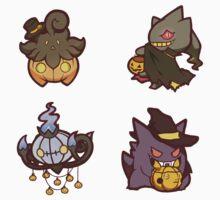 Pokémon / Halloween Set by valione